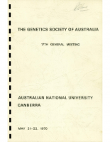 17th General Meeting Canberra – 1970