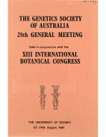 28th General Meeting Sydney – 1981