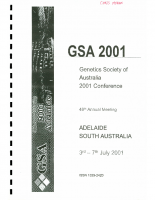 48th Annual Meeting Adelaide – 2001