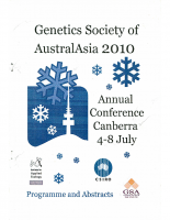 57th Annual Conference Canberra – 2010