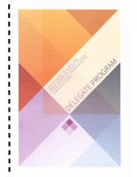 61st Annual Conference Sydney – 2014 Program